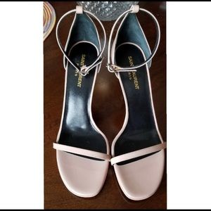 Saint Laurent amber slant sandal